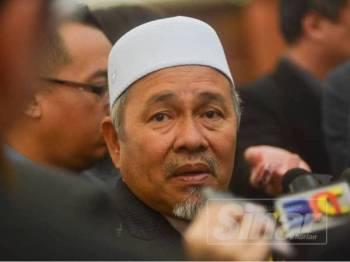 Ahli Parlimen Kubang Kerian, Tuan Ibrahim Tuan Man ketika ditemui di Parlimen hari ini. - FOTO SHARIFUDIN ABDUL RAHIM
