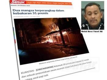 Laporan Sinar Harian 31 Ogos lalu.