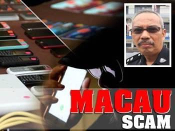 Seorang suri rumah dari Tanjung Gemuk mengalami kerugian RM49,999.87 ditipu Macau Scam. (Gambar kecil: Aidi Sham)