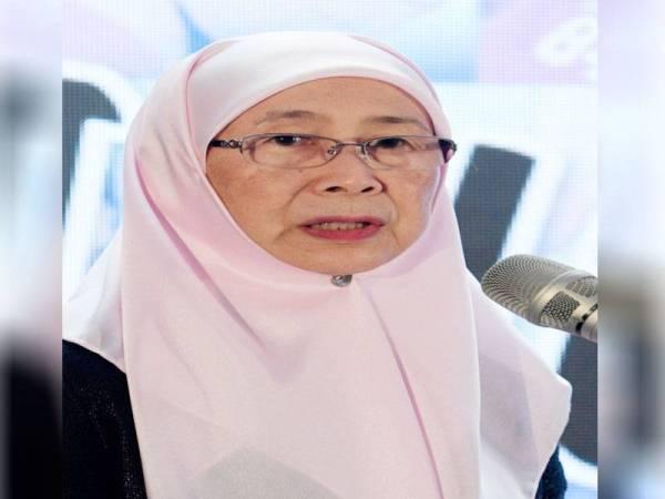 Datuk Seri Dr Wan Azizah Wan Ismail. FOTO: BERNAMA