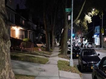 Lokasi di mana seorang kanak-kanak lelaki berusia enam tahun cedera parah diserang gelandangan.