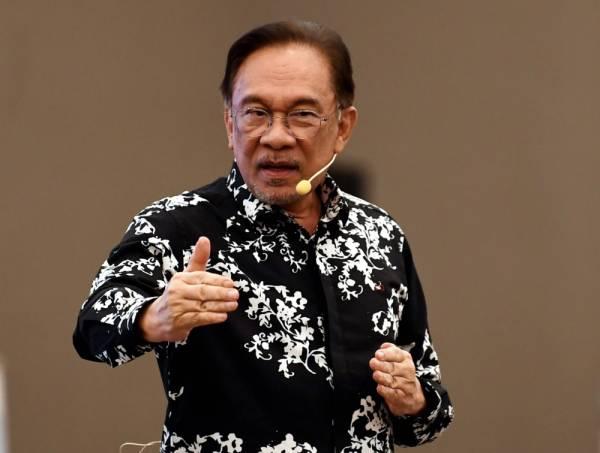 Anwar Ibrahim -Foto Bernama