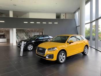 ANTARA sebahagian model-model yang ditawarkan Audi yang terdapat di bilik pameran tersebut.