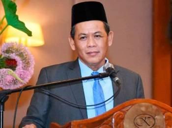 Aminuddin ketika berucap di majlis tersebut.
