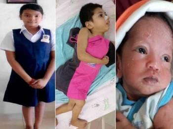 Jabatan Kebajikan Masyarakat Wilayah Persekutuan Kuala Lumpur mengesan waris kepada seorang bayi dan dua kanak-kanak perempuan.
