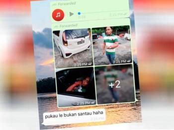 Gambar Mohd Noor Azly dan rakaman suara mendakwa dia pukau penduduk tular di media sosial.
