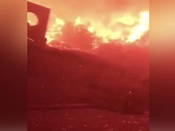 Kebakaran hutan paling teruk dalam sejarah negara.