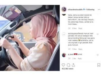 Instagram Siti Sarah