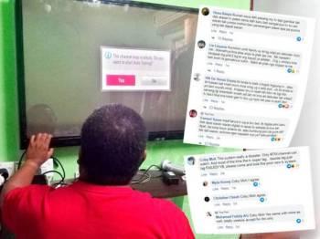 Keluhan orang ramai berhubung masalah siaran televisyen selepas peralihan analog ke digital dilaksanakan Isnin lalu
