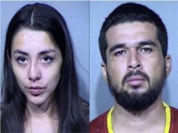 Denisse dan Pablo Solorzano menghadapi tuduhan penyalahgunaan dadah dan penganiayaan kanak-kanak.- Foto Agensi