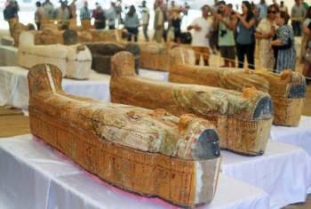 Ia akan menjalani proses pemulihan sebelum dipindahkan ke bilik pameran di Muzium Besar Mesir pada tahun depan.