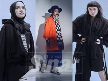 KONSEP rekaan kimono jenama Nawre ideal digayakan golongan wanita dan jejaka termasuk kelompok berhijab.