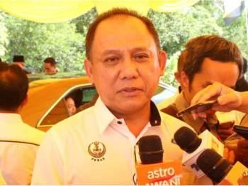 Pengarah Perhutanan Perak, Datuk Mohamed Zin Yusop ketika ditemui pemberita hari ini.