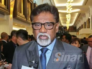Dr Xavier Jayakumar ditemui media di Parlimen. -Foto Sinar Harian SHARIFUDIN ABDUL RAHIM