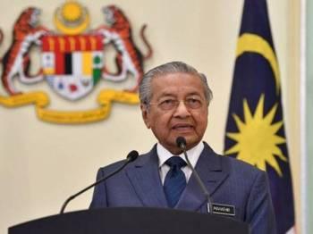 Dr Mahathir - Foto fail Bernama