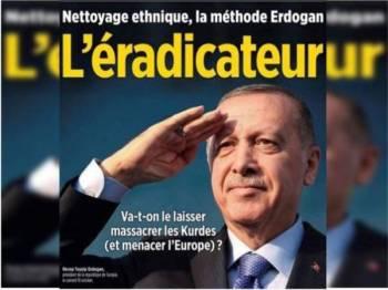 Tindakan majalah itu didakwa satu bentuk penghinaan awam kepada Erdogan dan ia merupakan satu jenayah di Turki.