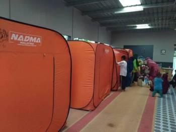 Dua Pusat Pemindahan Sementara (PPS) masih dibuka di Pontian.