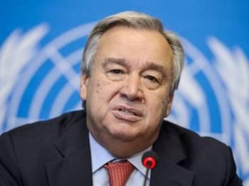 Antonio Guterres -Foto AFP