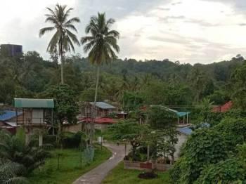 Kampung Limau Kasturi antara salah satu kawasan berisiko banjir.