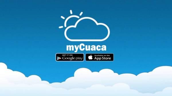 Aplikasi myCuaca.