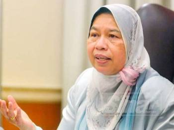 Zuraida Kamaruddin - FOTO SHARIFUDIN ABDUL RAHIM
