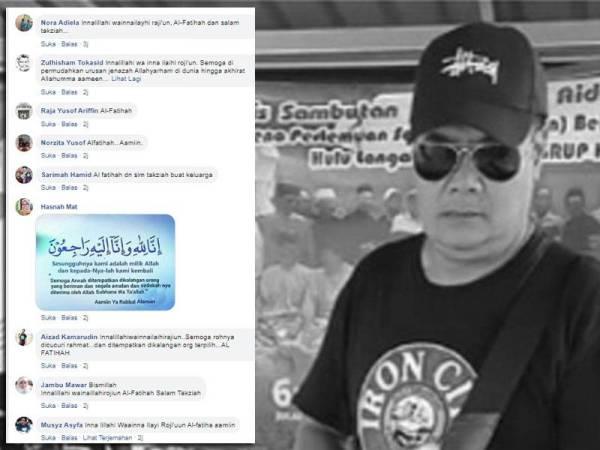 Antara reaksi netizen yang mendoakan semoga arwah Alok ditempatkan dalam kalangan orang beriman.