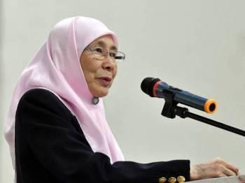 Datuk Seri Dr Wan Azizah Wan Ismail.  - Foto Bernama