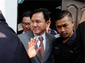 Paul Yong Choo Kiong (tengah) - Foto Bernama