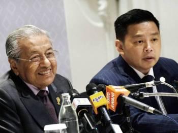 Perdana Menteri, Tun Dr Mahathir Mohamad bercakap pada satu sidang akhbar semasa Summit ASEAN China ke-22 di sini di IMPACT Muang Thong Thani hari ini. - foto: BERNAMA