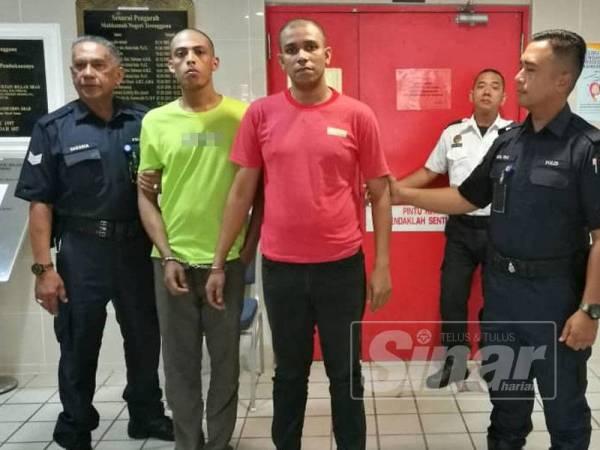 Kedua-dua tertuduh dijatuhi hukuman tiga tahun penjara oleh Mahkamah Majistret di sini hari ini selepas mengaku salah melakukan pecah rumah milik seorang jurulatih taekwondo di Kuala Ibai di sini.