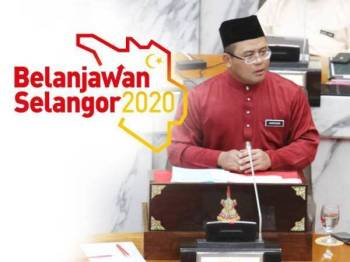 Amirudin ketika membentangkan Belanjawan Selangor 2020 di Bangunan Dewan Negeri Selangor minggu lalu.
