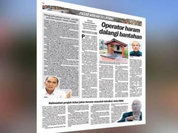 Laporan Sinar Harian hari ini mengenai penguatkuasaan yang lemah serta longgar oleh PBT menjadi antara punca yang menyebabkan pemilik premis perniagaan haram di tanah rizab jalan di kawasan Selayang Baru menjadi 'besar kepala'.
