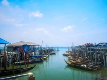 Pelabuhan Jeti Tanjung Piai. FOTO SHARIFUDIN ABDUL RAHIM