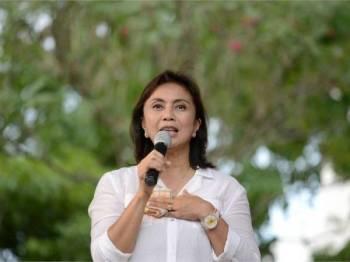 Leni Robredo. - Foto: AFP