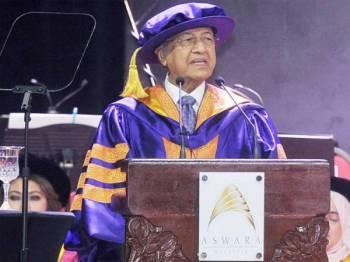Dr Mahathir - FOTO ROSLI TALIB
