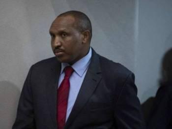 Ntaganda didapati bersalah atas 18 tuduhan jenayah perang dan kemanusiaan. - Foto AFP