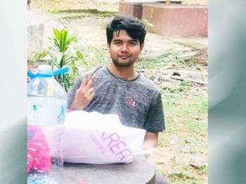 Tuan Ahmad Amar dipercayai tidak pulang ke kediaman pelajar di Unicity Alam Sungai Chuchuh Padang Besar sejak jam 8 malam Khamis lalu.