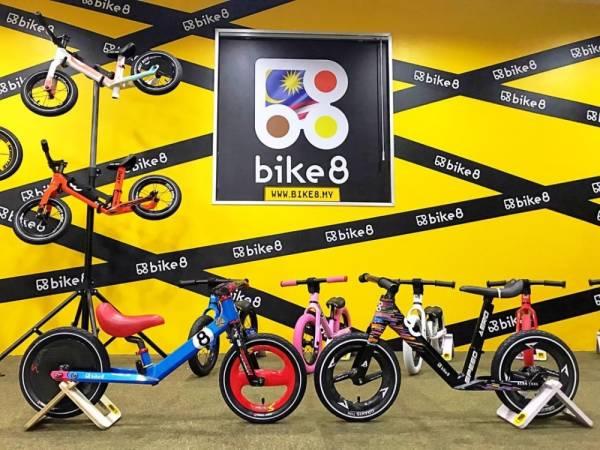 BIKE8 Malaysia beribu pejabat di 15-A, Jalan Suarasa 8/3, Town Park 1 Bandar Tun Hussein Onn, 43200 Batu 9 Cheras, Selangor.
