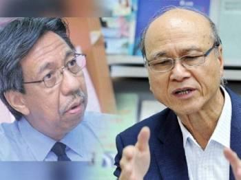 Dr Teo Kok Seong (kiri), Lee Lam Thye