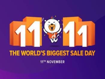Tarikh 11.11 dikenali sebagai Hari Bujang, namun kini telah dikenali sebagai Hari Membeli-Belah atau Hari Runcit yang disambut di seluruh dunia.