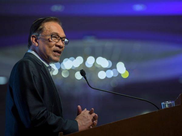 Anwar Ibrahim - Foto fail Bernama