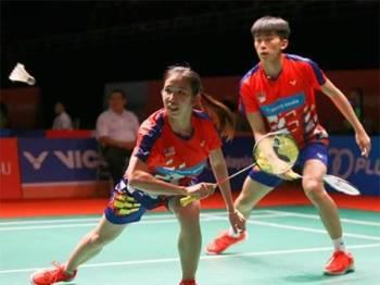Pang Ron dan Yee See berjaya mara ke pusingan kedua Kejohanan Cabaran Antarabangsa Malaysia 2019.