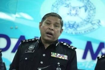 Mohd Zakaria bercakap pada sidang media berkaitan dengan OPS Waran Tangkap 2019 di Kuala Lumpur tadi.FOTO:ZAHID IZZANI
