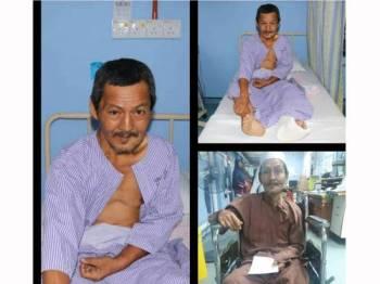 IPD Kuala Selangor mencari waris kepada lelaki ini yang sedang dirawat di Hospital Tanjong Karang.