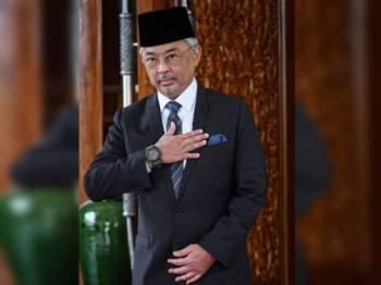 Yang di-Pertuan Agong Al-Sultan Abdullah - Foto Bernama