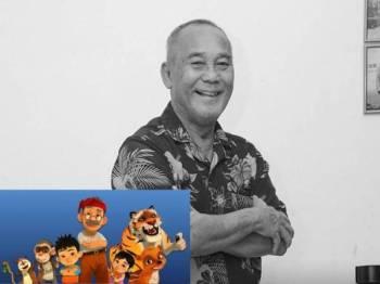 Allahyarham dikenali menerusi watak Aki dalam animasi Pada Zaman Dahulu. - FOTO: Les' Copaque Production Sdn Bhd