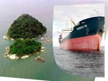 Kapal yang didaftarkan di Vietnam ditahan untuk siasatan lanjut.