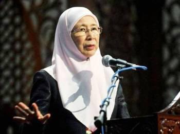 Wan Azizah - Foto fail Bernama