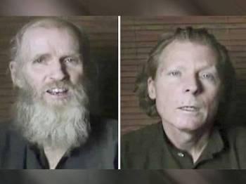 King (kiri), dari Pennsylvania dan Weekes dari New South Wales diculik di luar kampus Universiti Amerika di Kabul tiga tahun lalu.