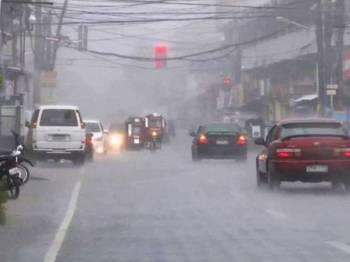 Taufan Kalmaegi dijangka melanda utara Filipina dengan kekuatan angin mencecah 120 kilometer sejam. - Gambar hiasan